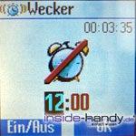 Siemens CF62 - Wecker