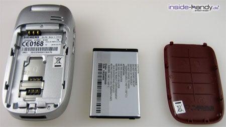 Siemens CL 75 - auseinander von hinten