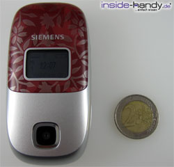 Siemens CL 75 - größe