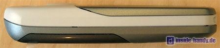 Siemens CX 65 - Seitenansicht