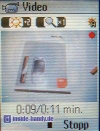 Siemens M65 - Display Kamera