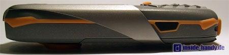 Siemens M65 - Seitenansicht mit Metallbügel
