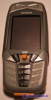 Siemens M65 - Vorderseite