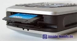Siemens S65 : Speicherkarte