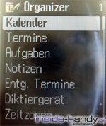 Siemens SK65 - Organizer