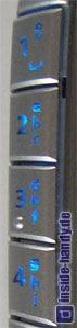 Siemens SX1 - Seitentasten