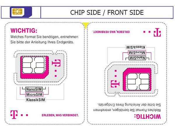 Weniger Plastik, gleiche SIM: Telekom verändert SIM-Karte für Neukunden