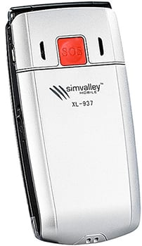 simvalley MOBILE XL-937 Datenblatt - Foto des simvalley MOBILE XL-937