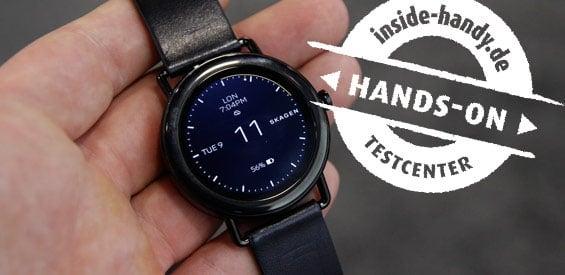 Skagen Smartwatch Hands-On