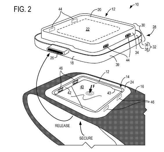 Skizzen aus dem Microsoft-Patent