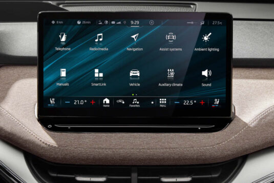 Skoda Enyaq iV Entertainmentsystem