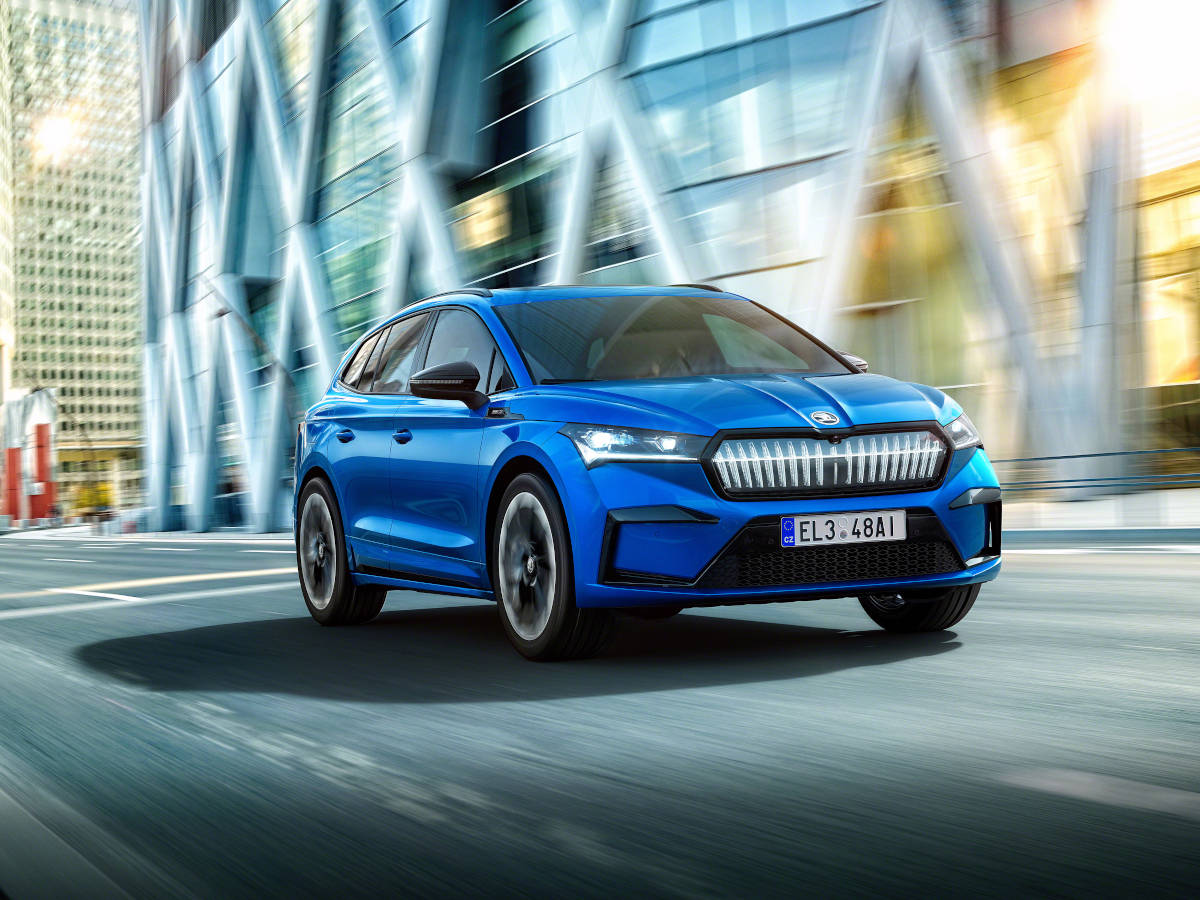 Skoda Enyaq Sportline iV vorgestellt: Elektro-SUV in sportlich - inside digital