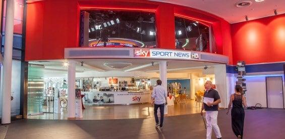 Sendezentrale von Sky Sport News HD
