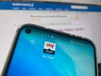 Sky Ticket App
