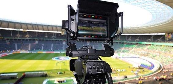UHD-Kamera von Sportcast im Olympiastadion Berlin
