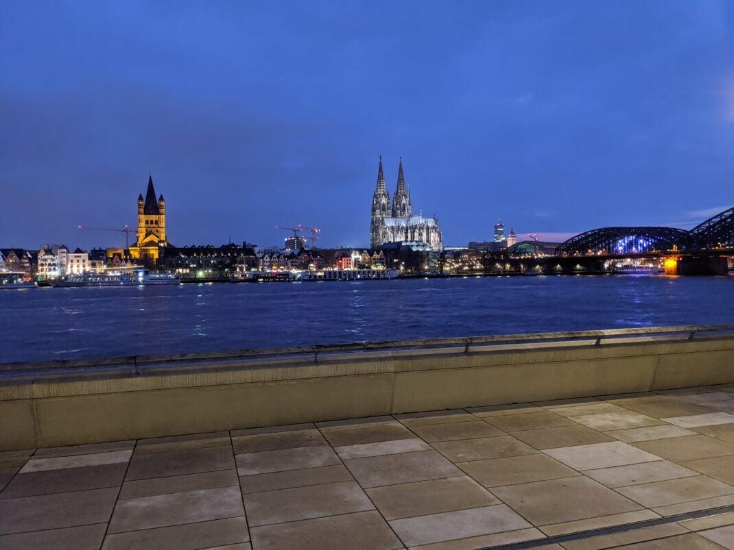 Köln, Dom, Skyline, Pixel 4