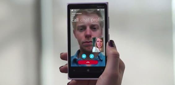Skype-App mit dem Sprachassistent Cortana Integration