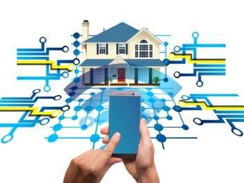 Smarte Alarmanlagen im Smart Home.
