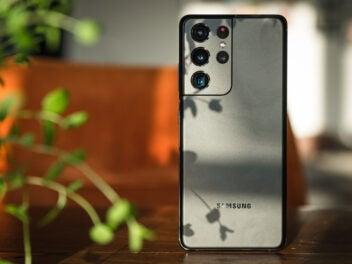 Das Samsung Galaxy S21 Ultra ist ein Smartphone mit guter Kamera