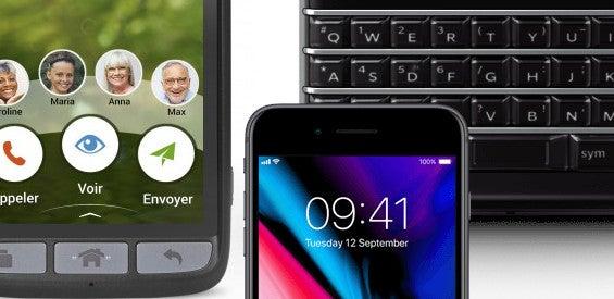 Smartphones für Blinde