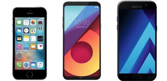 Die besten Smartphones für unter 300 Euro
