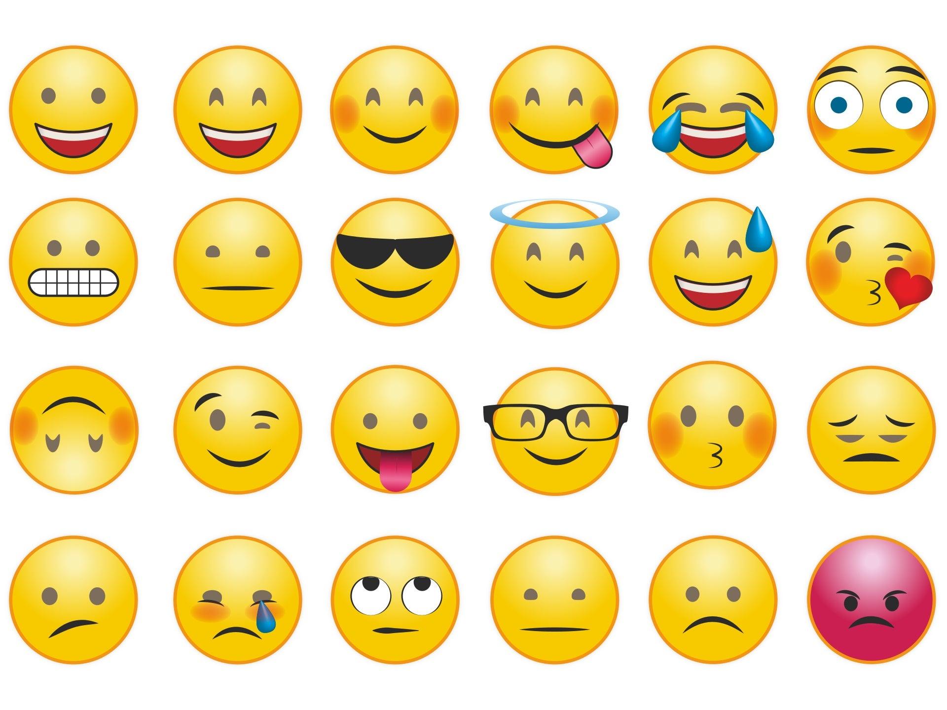 Emojis & Smileys zum Kopieren & Einfügen