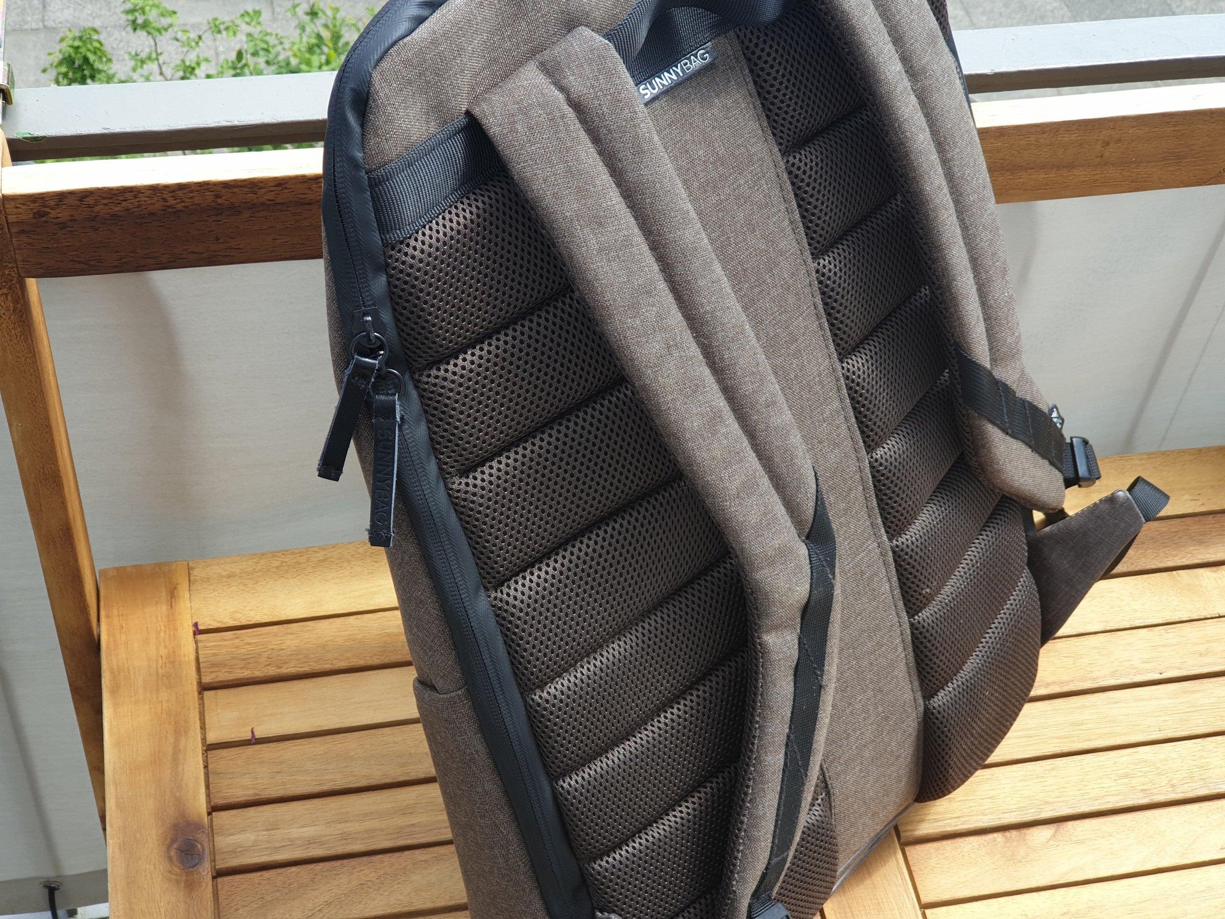 Rückenpolster des Sunnybag-Solar-Rucksack