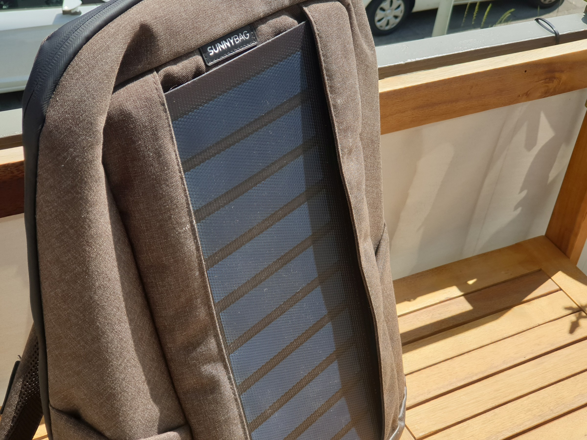 Solar-Rucksack von Sunnybag