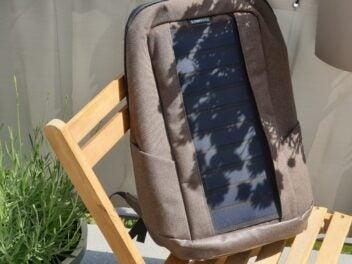 Der Solar-Rucksack von Sunnybag