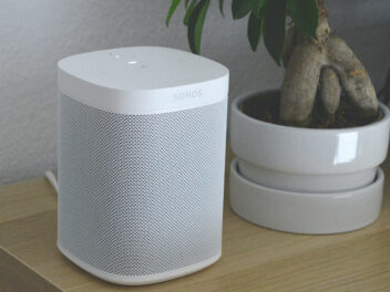 Sonos One Multiroom WLAN Smart Speaker