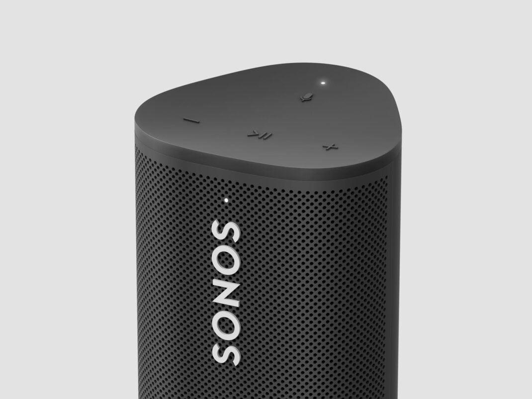 Sonos Roam: Die Bedienelemente