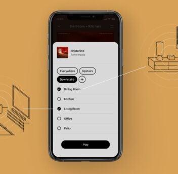 Erster Screenshot von Sonos S2