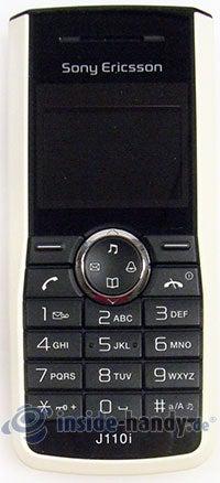 Sony Ericsson J110i: Draufsicht