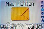 Sony Ericsson J110i: Nachrichten