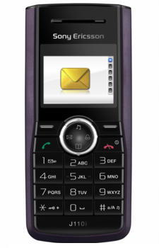 Sony J110i Datenblatt - Foto des Sony J110i