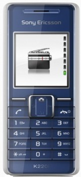 Sony K220i Datenblatt - Foto des Sony K220i