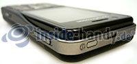 Sony Ericsson k530i: Ansicht oben rechts