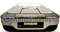 Sony Ericsson k530i: Ansicht unten