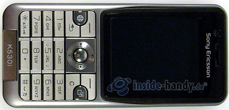 Sony Ericsson k530i: Draufsicht
