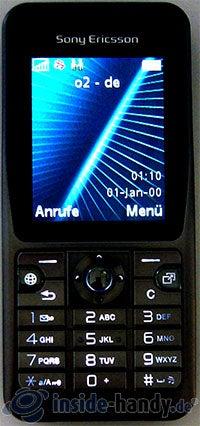 Sony Ericsson k530i: Handy beleuchtet