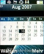 Sony Ericsson k530i: Kalender