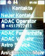 Sony Ericsson k530i: Kontakte