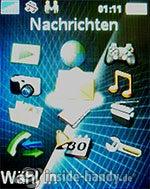 Sony Ericsson k530i: Menü