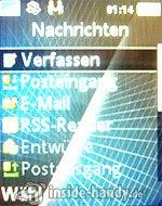 Sony Ericsson k530i: Nachrichten