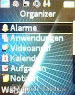 Sony Ericsson k530i: Organizer