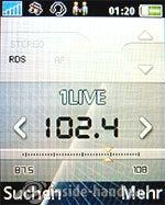 Sony Ericsson k530i: Radio