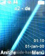 Sony Ericsson k530i: Startbild