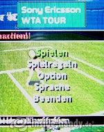 Sony Ericsson k530i: Tennis