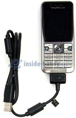 Sony Ericsson k530i: USB-Kabel