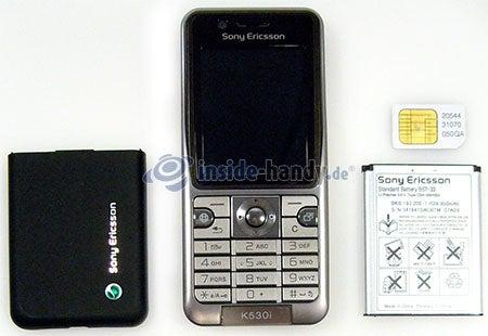 Sony Ericsson k530i: zerlegtes Gerät